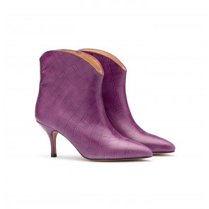 Boot Williamsburg Aubergine Croco ***PRE-ORDER***