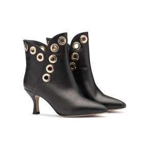 Boot Upper East Black