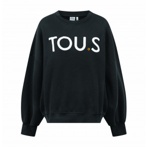 Sweater Rue De Buci Black Print