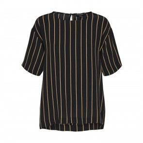 Top Alessa Black/Doe Stripe