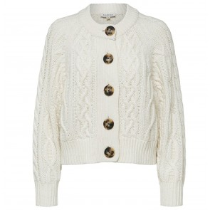Cropped Cardigan Valentina Snow White
