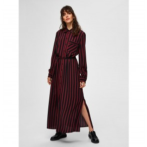 Ankle Shirt Dress Florenta Black Cabernet