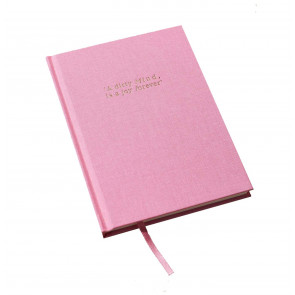 Luxe Notebook - 'A DIRTY MIND IS A JOY FOREVER'