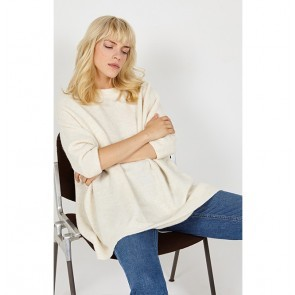 Pullover Malawood Mother of Pearl Melange