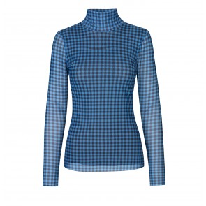 Top Jodi Blue Gingham