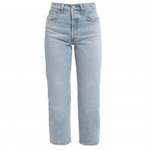 Jeans Ribcage Straight Tango Light Cropped