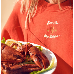 Sweater Rue de Buci Rouge Lobster