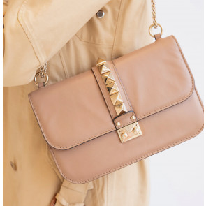Vintage Leather Bag Brown