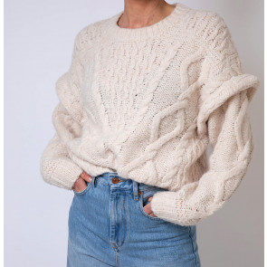 Vintage Pullover Wool Off White