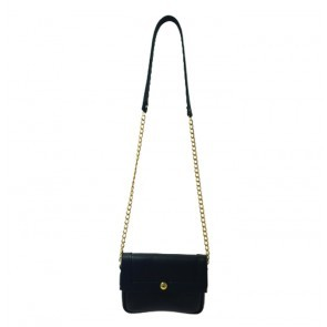 Basic Leather Purse Black