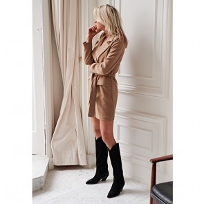 Blazerdress Rue Saint Honeré Camel