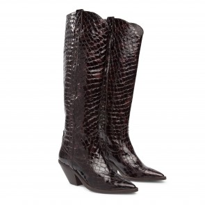 Arizona Boot Long Croco