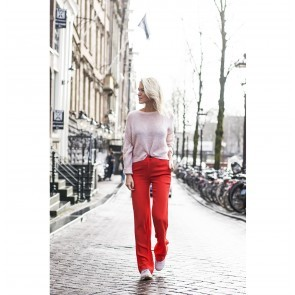 Trousers Cleo Scarlet Red