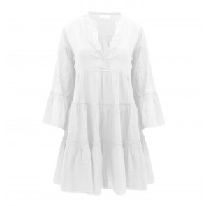 Short Dress Hague White