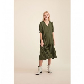 Dress Ibala Dark Olive