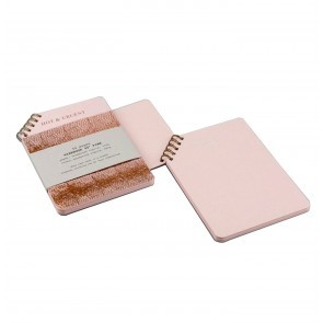 Hot copper 45 degrees pink book