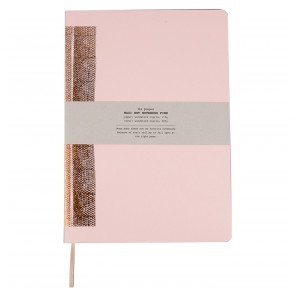 Hot copper notebook A4 pink