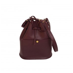 Bucketbag Small Burgundy