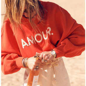 Sweater Rue de Buci Rouge Amour