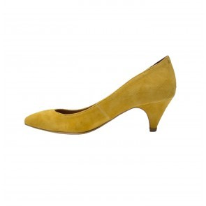 Pump Shila Suede Yellow