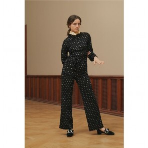 Jumpsuit Lana Dots Black