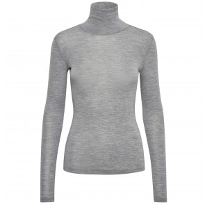 Rollneck Wilma Light Grey Melange