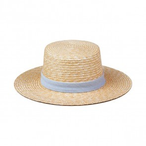 Straw Hat Spencer Boater - Make Your Own