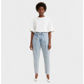 Jeans LMC Pleated Column Driftwood