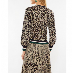 Sweat Cadila Lurex Leopard