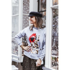Sweater OU.LALA Grey - Exclusive collab OU. Boutique Stories