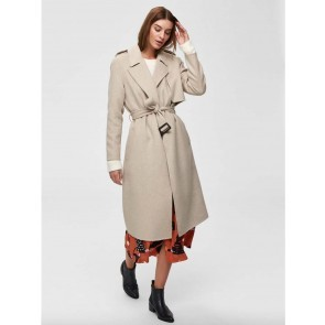Coat Tana Birch Melange