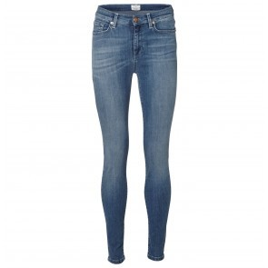 Jeans MR1 Elena Lapis Vintage Medium Blue Denim