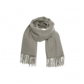 Scarf Cross Grey Melange