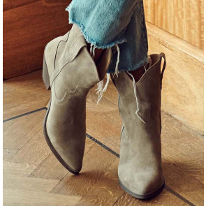 Sloane Boot Suede Taupe ***PRE-ORDER***