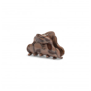 Clip Lene Crushed Mini Dark Brown