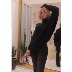 Pullover Turtleneck Boolder Black