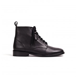 Boot Valery Grained Black