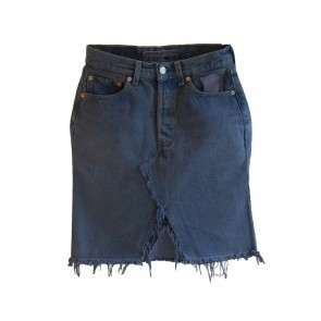V2 Vintage Levi's Denim Mini Skirt Dyed