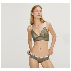 Slip Lexie Lace Grey