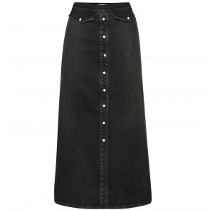 Long Skirt Astrid Washed Black