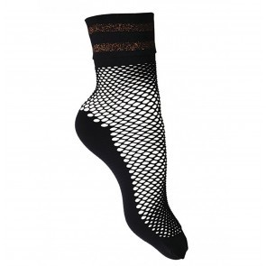 Socks Clarette Fishnet Black