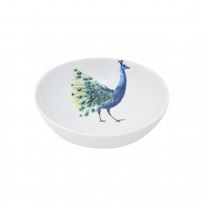 Cereal Bowl 18cm Peacock Head