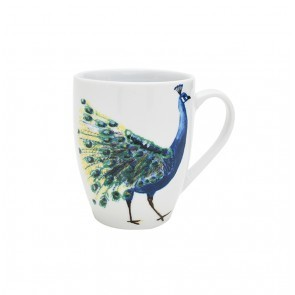 Mug 370ml Peacock Head