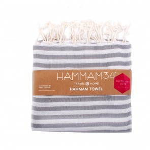 Hammam Towel Succulent Love Smoke