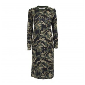 Dress Janny Green Army