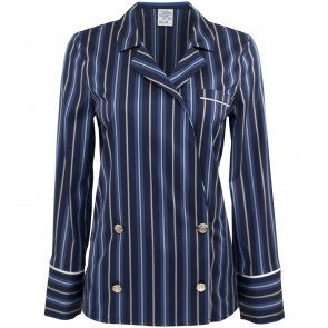 Blouse Melva Blue Stripes
