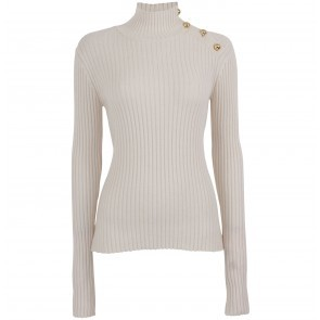 Knitted Turtleneck Cirea Creme
