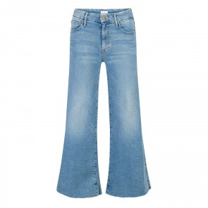 Jeans The Roller Crop Fray Ready to Roll
