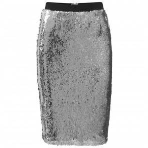 Skirt Ice Sequin Silver