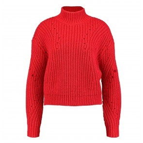 Knit Sweater Payson Chinese Red